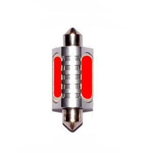 Bulb LED series 25, red 12V DC .07 Amps