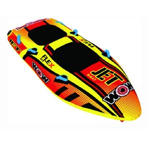 "WOW Jet Boat towable, 1-2 riders 98"" × 38"""