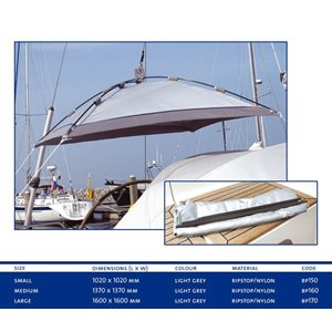 Blue Performance Sailboat Small Free Hanging Sunshade 1600 X 1600mm