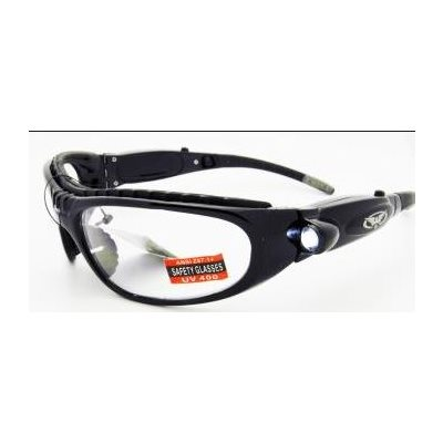 Safety glasses Hi-beam clear