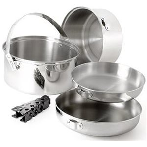 GSI stainless steel cookset large