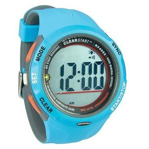 Clear Start sailing watch 50mm blue