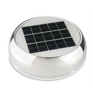 "Nicro 4"" day / night solar vent on / off switch-led light"