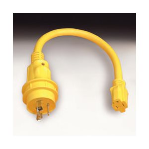 Marinco  Pigtail Adapter With LED