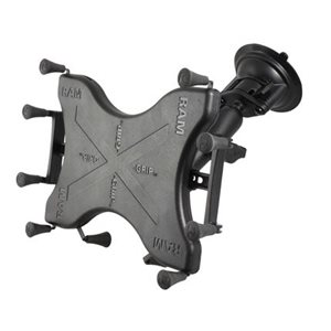 "Ram Mounts ball mount  and X-Grip 10""  for large tablets"