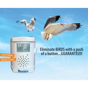 Deckgard Ultrasonic Bird Repeller
