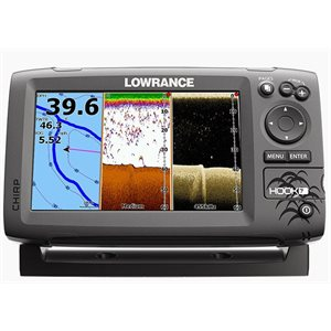 Hook-7 DSI fishfinder / chartplotter with mid / high / downscan