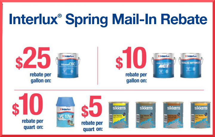 Interlux spring 2018 rebates