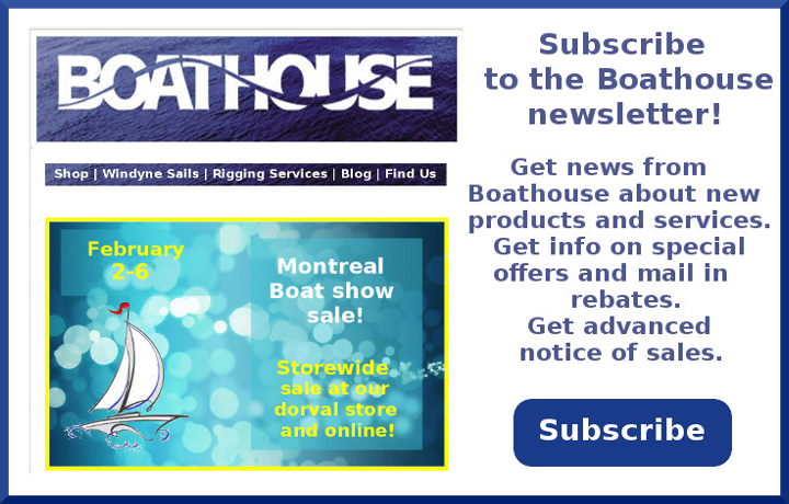 Boathouse newsletter subscribe