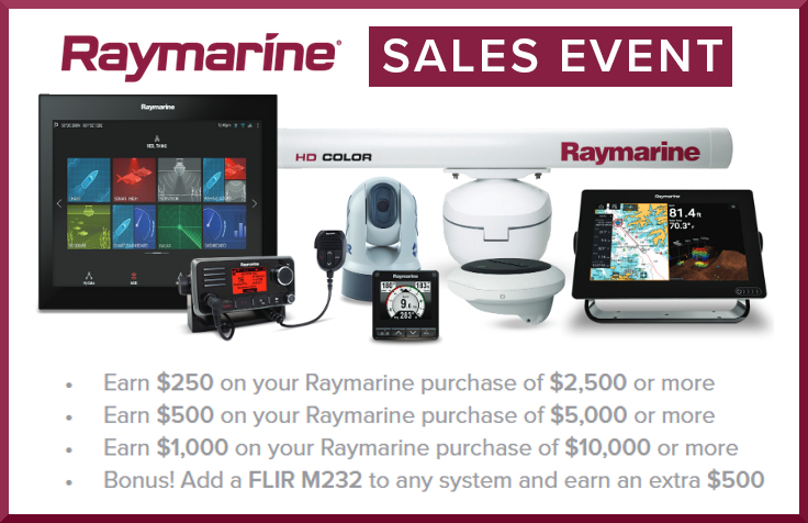 raymarine sales event montreal,dorval,quebec canada,