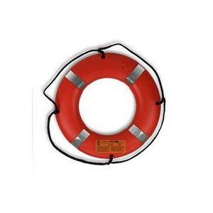 "Ring Buoy 24"" Orange  Approved"