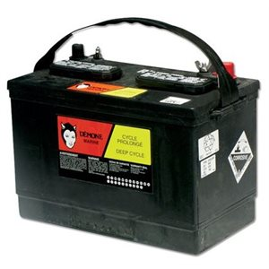 Batterie RV31  Cycle prolongé. 12V  200 RC min.