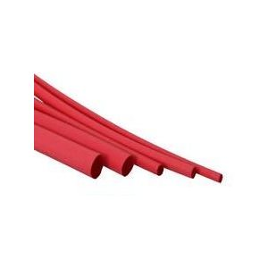 "Heat shrink 48"" x 3 / 16"" red"