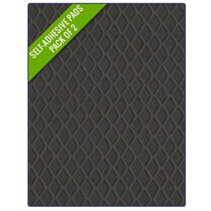"Treadmaster pad #1 10.75"" x 5.25"" small diamond black (2)"