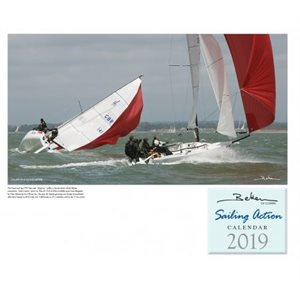 Beken of Cowes Calendar 2019 - Sailing Action  42x59cm