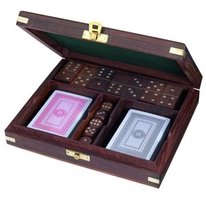 Games set - dice / dominoes / cards