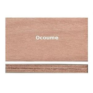 Marine plywood okoume 4mm 3ply 4' X 4'