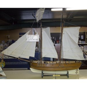 Model ship Pirate 25""