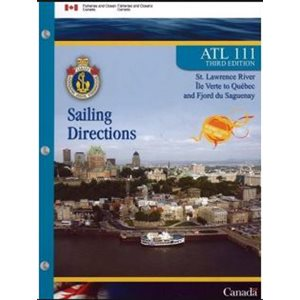 Sailing directions Ile Verte to Quebec