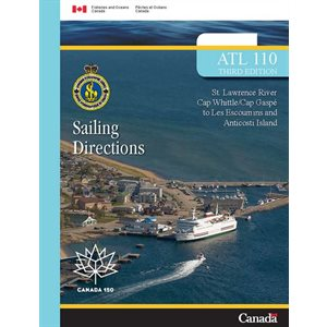 Sailing directions  Cap Whittle / Cap Gaspé to Les Escoumins and Anticosti Island