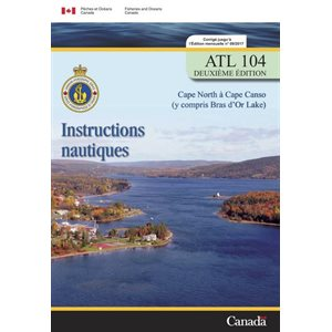 Instructions nautique  Cape Nord - Cape Canso