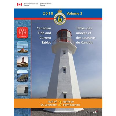 Tide & Current Vol 2 2018 Gulf of St Lawrence