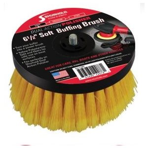 Buffing brush soft yellow