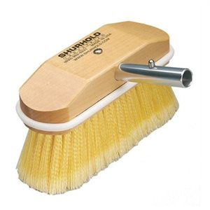 "Soft brush  8""  easily and positively locks into any Shurhold handle"