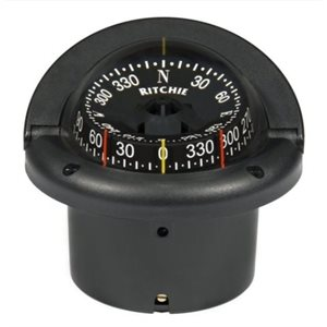 Helmsman flush mount compass combidial