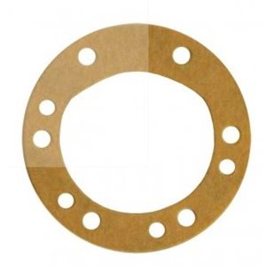 Gasket for raw water pump cover