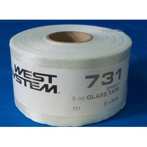 "Fiberglass cloth  9 oz x 3"" 50 yd roll"