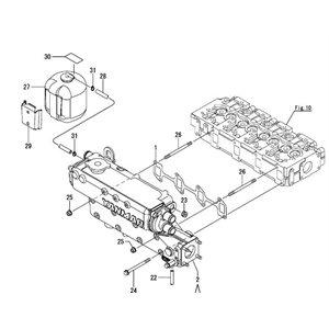 Yanmar marine diesel parts pieces Engine Model: 4JHE,4JH