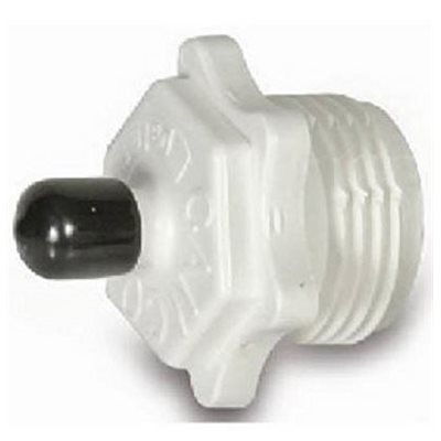 Blow out plug plastic Used to clear water lines
