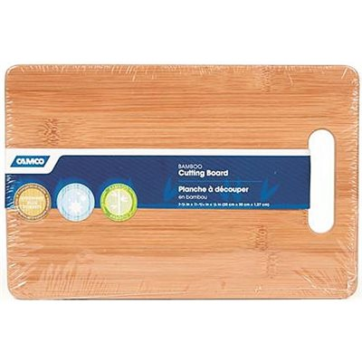"RV / galley  bamboo cutting board  7-7 / 8""  x 11-13 / 16""  x 1 / 2"""