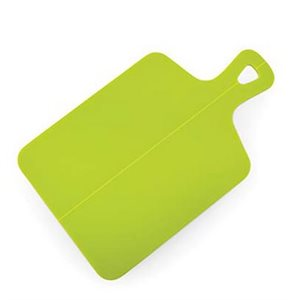 "Foldable cutting board, green 15"" x 9.25"" x .13"""