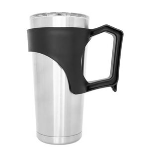 Tumbler with handle 20 oz black
