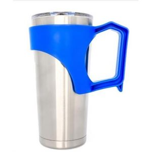 Tumbler with handle 20 oz blue