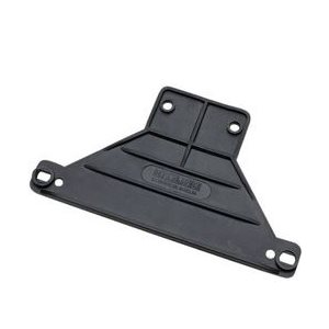License plate bracket black