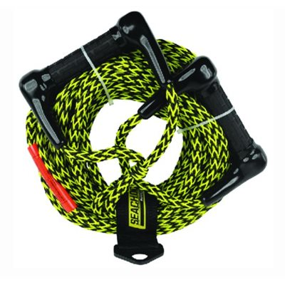 Water ski rope with double handle 75' TS 1600 lbs.