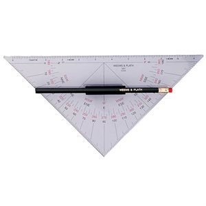 Weems And Plath Protractor Triangle With Handle