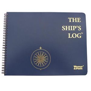 Weems & Plath Log books: Ships Log