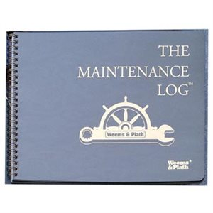 Weems & Plath Log books:maintenance