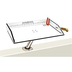 "Bait / Filet Mate table 20"" x 12 3 / 4"" mount not Included"