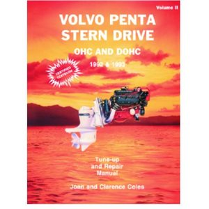 Seloc repair manual for Volvo Penta Stern Drive ll, OHC and DOHC 1992-93  all gas engines