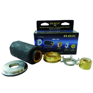 Solas hub kit Rubex d102 Kit Merc / Mercrsr / Force / Honda 70-250HP