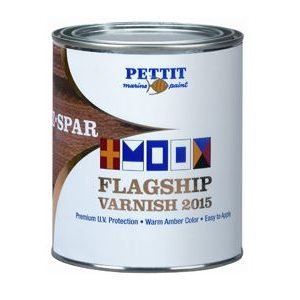 Pettit Flagship premium traditional high gloss varnish quart