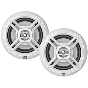 "Dual speakers 6.5"" 100W two way"
