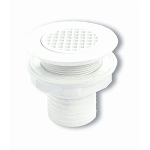 Marelon flush deck drain  1-1 / 2""