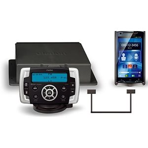 Marine digital  mp3 / wma player  / receiver  with watertight commander