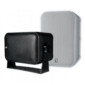 "Poly-planar 5 1 / 4"" 100 Watt Speaker Box Black"